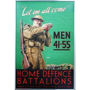 Home Defence Battalions WW2 Poster