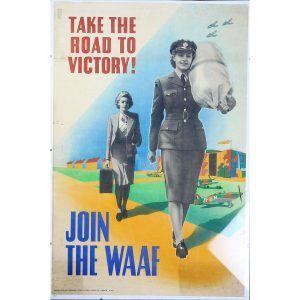 WW2 British WAAF Recruitment Poster