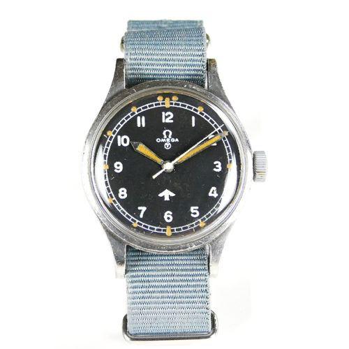 Military Omega Fat Arrow 1953 Watch