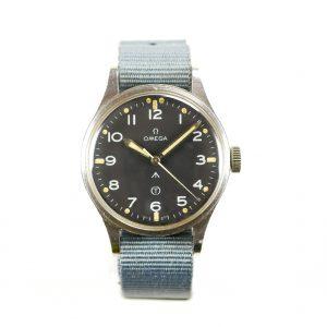 Omega 1953 RAF MOD Thin Arrow Pilots Watch