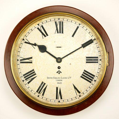 Smiths Army White Dial Clock