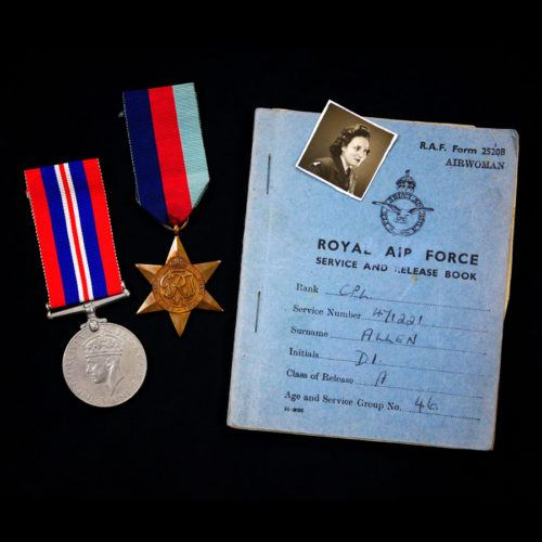WW2 Medals & Service Book
