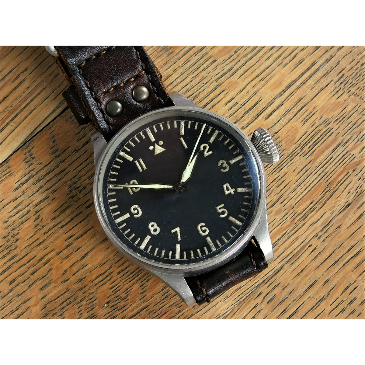 original ww2 iwc b uhr beobachtungsuhr luftwaffe. Black Bedroom Furniture Sets. Home Design Ideas