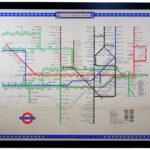 Original Vintage London Tube Map by H C Beck