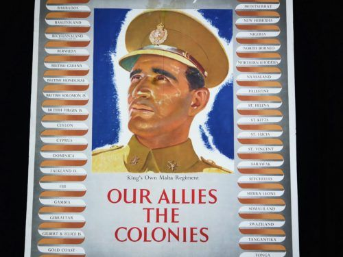 King's Own Malta Regiment WW2 Poster