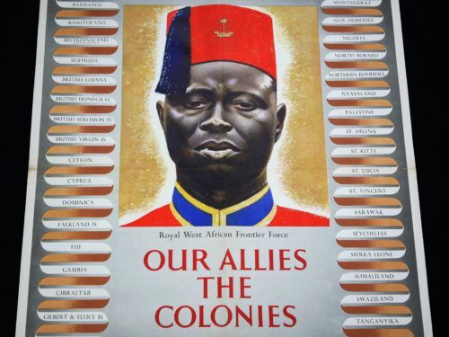 The British Colonial Empire WW2 Poster