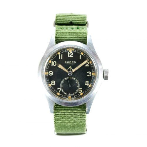 Buren WWW Dirty Dozen Military Watch