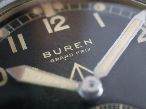 Buren WWW Dirty Dozen Military Watch