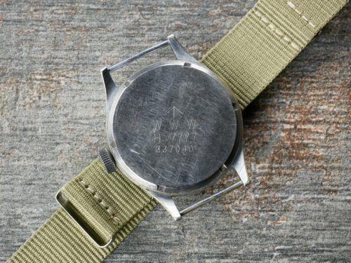Buren WWW Dirty Dozen Military Watch Case Back