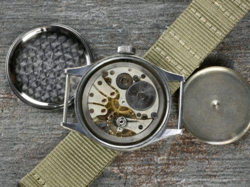 Buren WWW Dirty Dozen Military Watch Movement