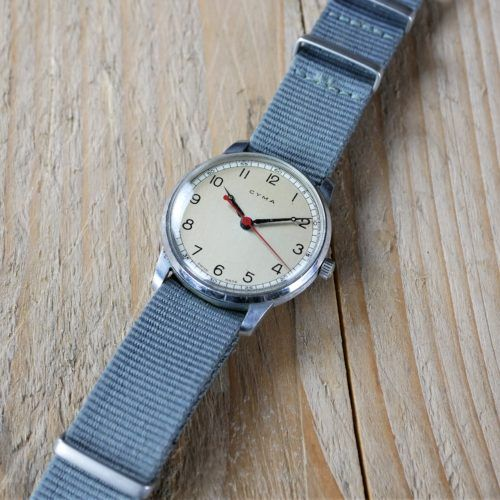 Omega HS8 Fleet Air Arm Pilots Watch