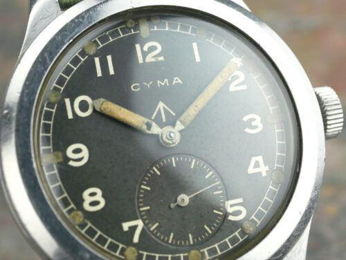 Cyma WWW Dirty Dozen Military Watch