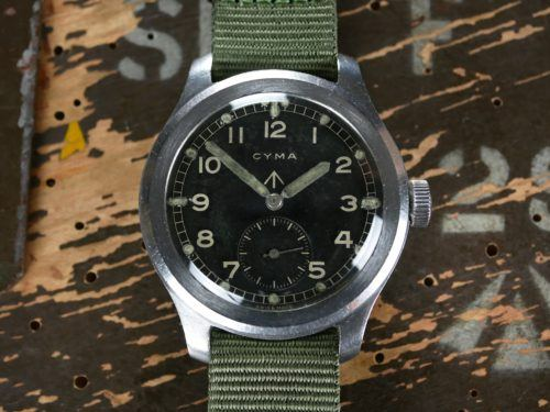 Cyma WWW Dirty Dozen Watch