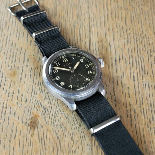 Military Cyma WWW Dirty Dozen Watch