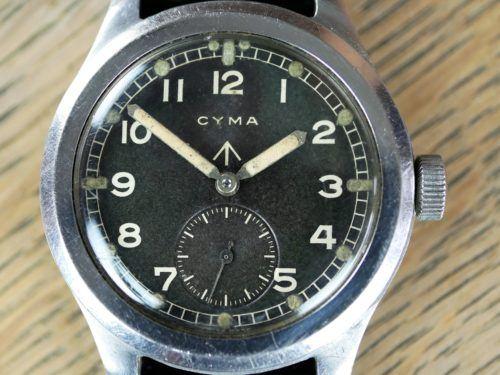 Military Cyma WWW Dirty Dozen Watch