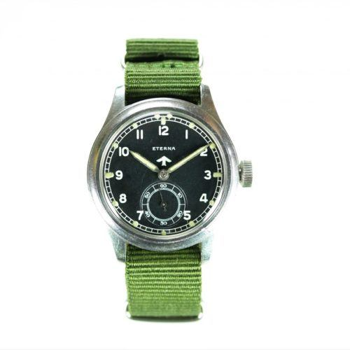 Eterna WWW Dirty Dozen MoD Dial Military Watch