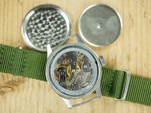 Eterna WWW Dirty Dozen MoD Dial Military Watch