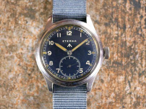 Eterna WWW Dirty Dozen Military Watch