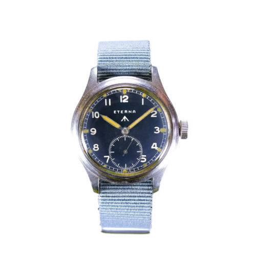 Eterna WWW Dirty Dozen Military Watch