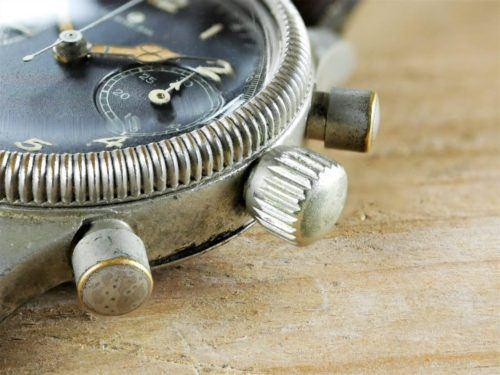 Glashutte Tutima German Military Pilots Chronograph