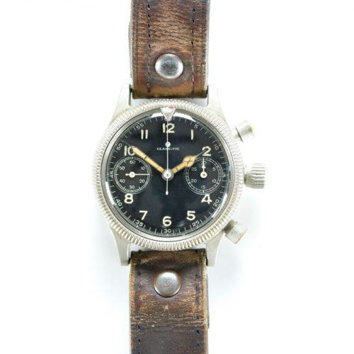 Glashutte Tutima German Military Pilots Chronograph