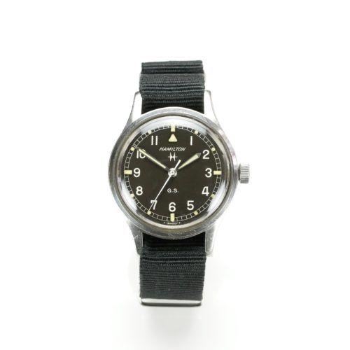 Hamilton GS Military Watch