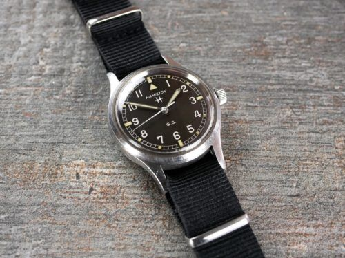 Hamilton GS Military Watch
