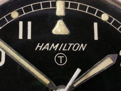 Hamilton 6B H-67 Military Watch