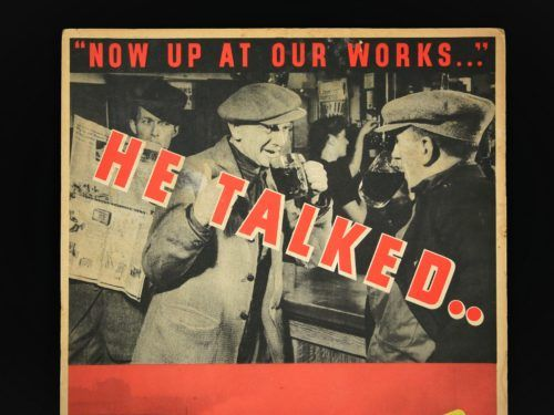Careless Talk Costs Lives WW2 Poster