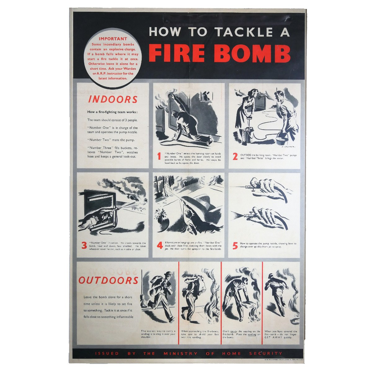 How to Tackle a Fire Bomb