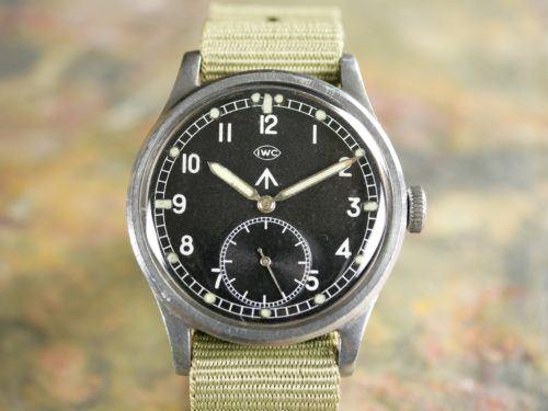 IWC WWW Dirty Dozen Military Watch