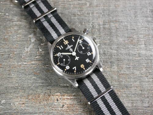 Lemania Chronograph Series 2 Military Watch