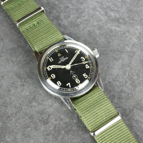 Lemania Dive Supervisor Military Watch
