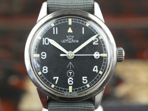 Lemania Dive Supervisor Royal Navy Watch