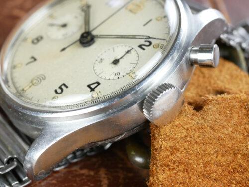 Military Lemania Sterile Dial Series 1 Chronograph