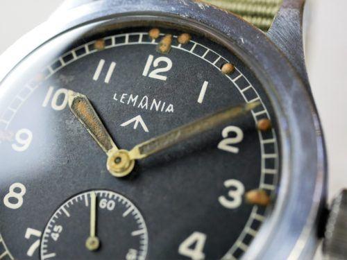 Lemania WWW Dirty Dozen Military Watch