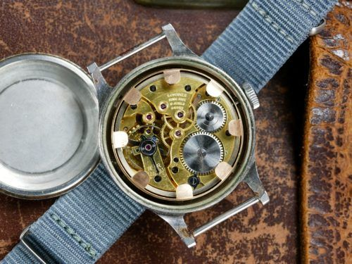 Longines 6B/159 56 RAF Watch Movement