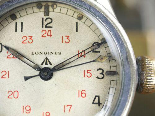 Longines COSD Tuna Can Military Watch