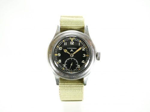 Longines WWW Dirty Dozen Military Watch
