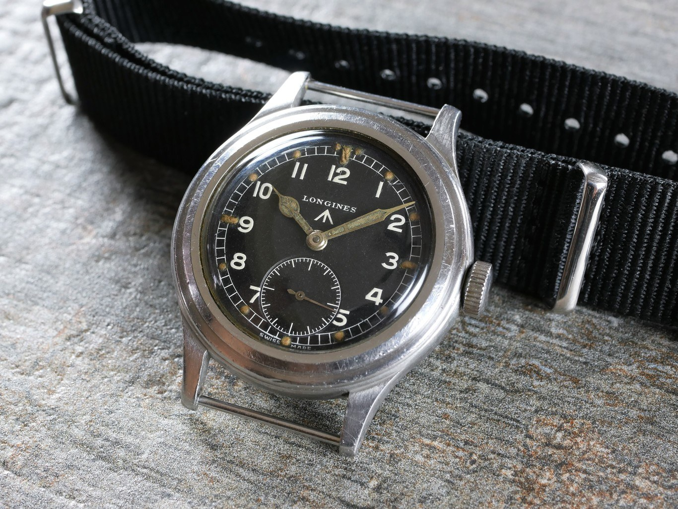 new concept 3bd10 6ae69 Longines WWW Dirty Dozen British Army Military Wristwatch c.1945