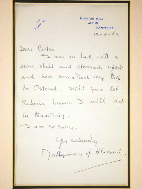 Monty Letter