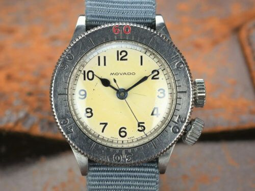 Movado Weems RAF Watch