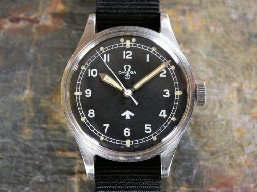 Omega 53 Fat Arrow RAF Watch