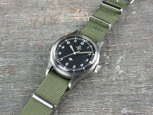 Omega 53 Fat Arrow RAF Watch