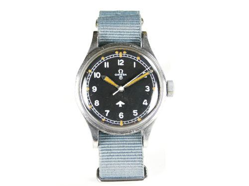 Military Omega Fat Arrow 1953 Watch