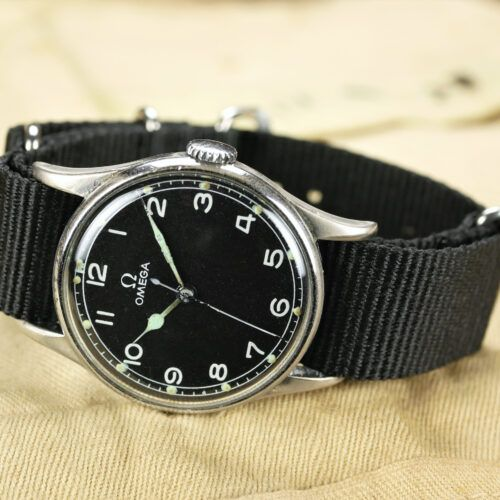 Military Omega RAF 6B/159 MoD Dial Watch
