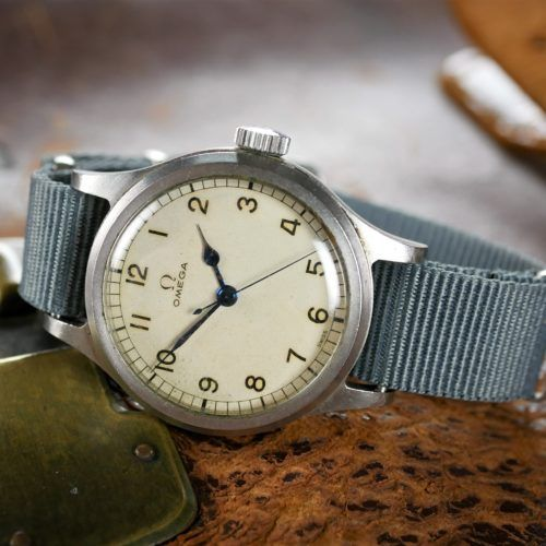 Omega D.O.S. British Civil Service Watch c.1959