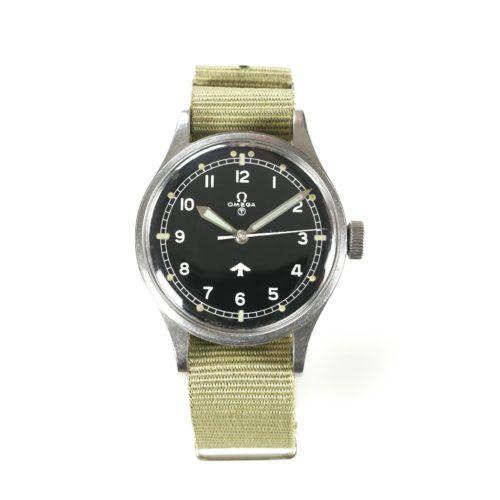 Military Omega 53 Fat Arrow RAF Watch