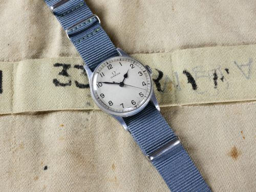 Omega HS8 Military Watch