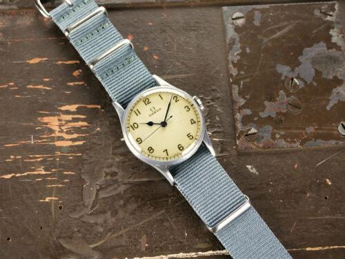 Military Omega HS8 Fleet Air Arm Watch